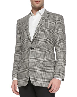 Versace Herringbone 2-Button Trend-Fit Jacket