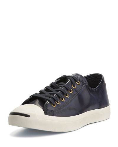 Jack Purcell Leather Sneakers, Blue