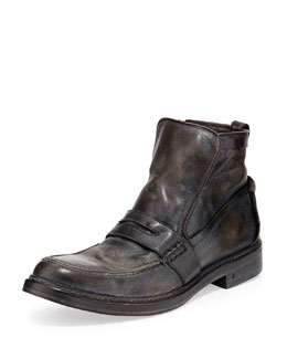 John Varvatos Patrick Penny-Keeper Boot, Graphite