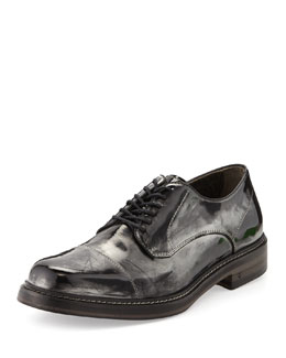 John Varvatos Patrick Metallic Derby Shoe