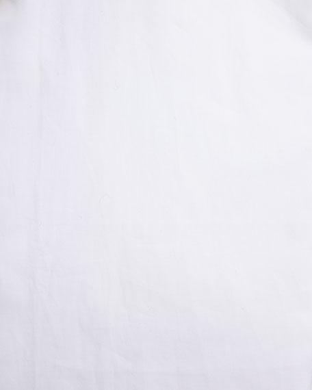 Poplin Dress Shirt, White