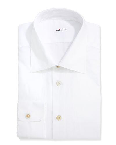 Basic Poplin Dress Shirt, White