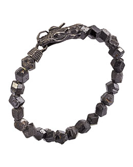 John Hardy Naga Men's Dragon-Head Bracelet