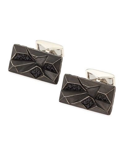 Classic Chain Lava Cuff Links