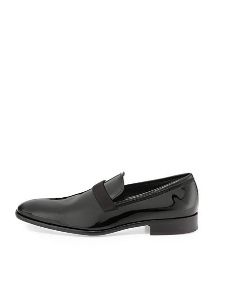 Antoane Patent Loafer, Black