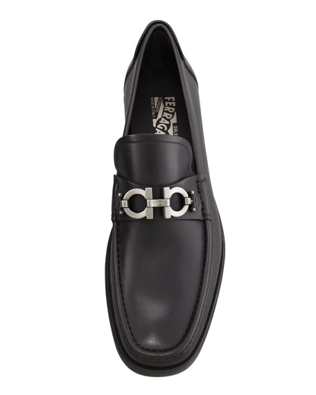Gancini Loafer, Black