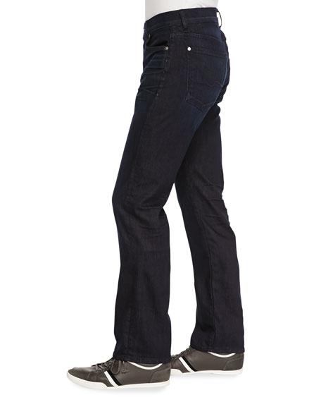 Luxe Performance: Standard Dark Indigo Jeans