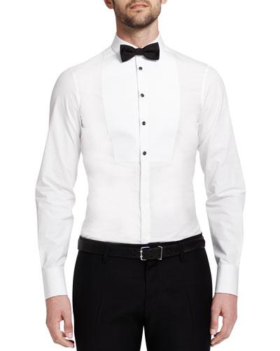 Dsquared2 Dean Poplin Tuxedo Shirt