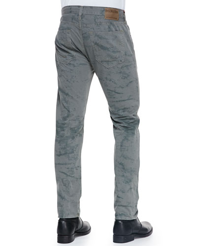True Religion Geno Rocky Coast Watermark Denim Jeans