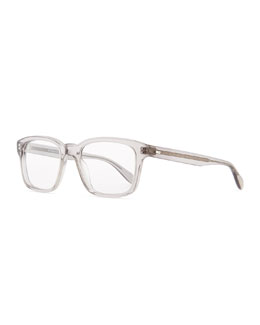 Oliver Peoples Wyler 54 Polarized Wide Optical Lenses Sunglasses, Gray