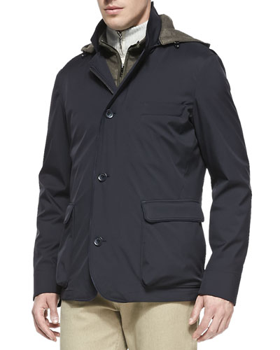 3-in-1 Roadster Windmate Jacket, Blue