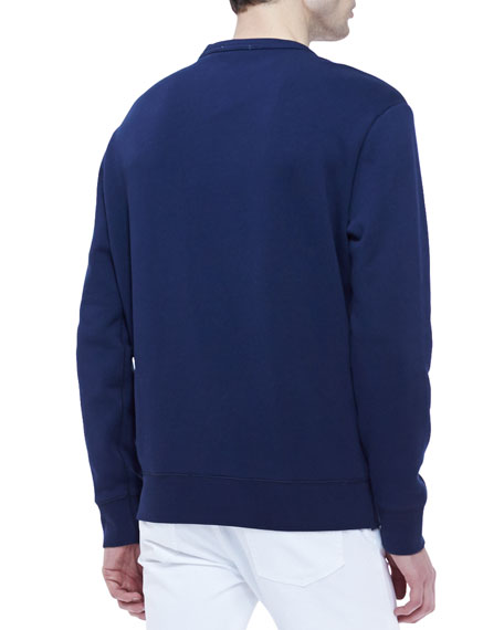 Burberry Brit Equestrian Knight Crewneck Sweatshirt