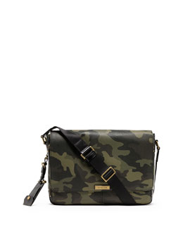 Michael Kors  Men's Large Jet Set Messenger