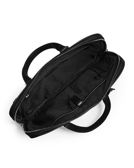 Warren Slim Leather Briefcase