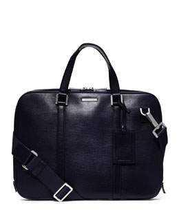 Michael Kors  Warren Slim Leather Briefcase