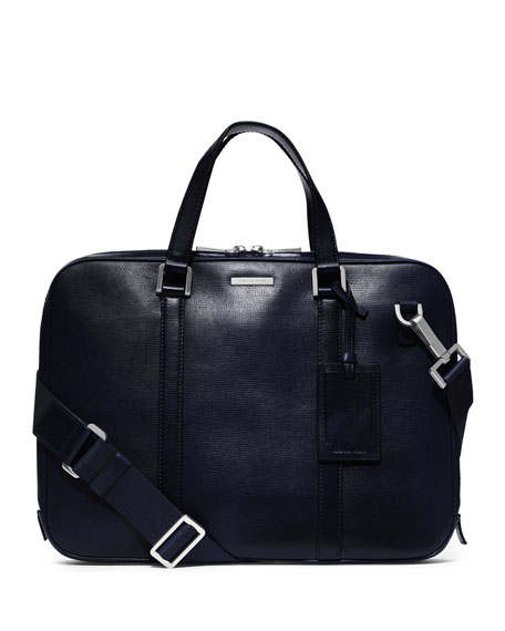 Warren Slim Leather Briefcase