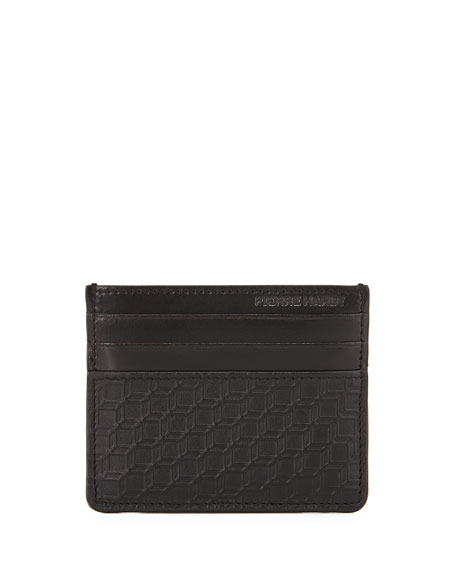 Napa Cube Clip Card Case, Black