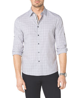 Michael Kors Conan Check Shirt