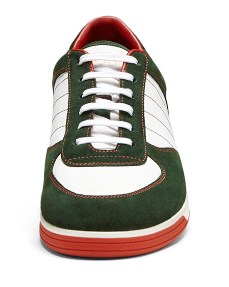 gucci 1984 sneakers. 1984 suede low-top sneaker, green gucci sneakers