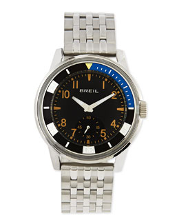 Breil Orchestra Black-Plated Bracelet Watch, Black
