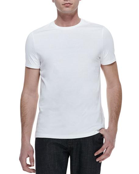 Burberry Brit Basic Short-Sleeve Tee, White