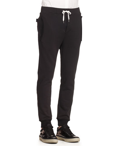Fred Main Sweatpants, Black