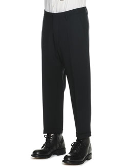 Dsquared2 Dropped-Inseam Cropped Trousers