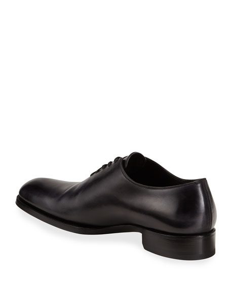 Edward One-Piece Lace-Up TT Leather Shoe