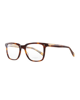 Oliver Peoples NDG I Fashion Glasses, Brown