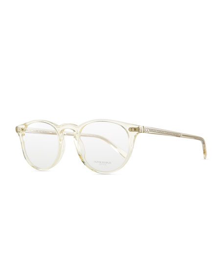 Riley Clear Men's Fashion Glasses