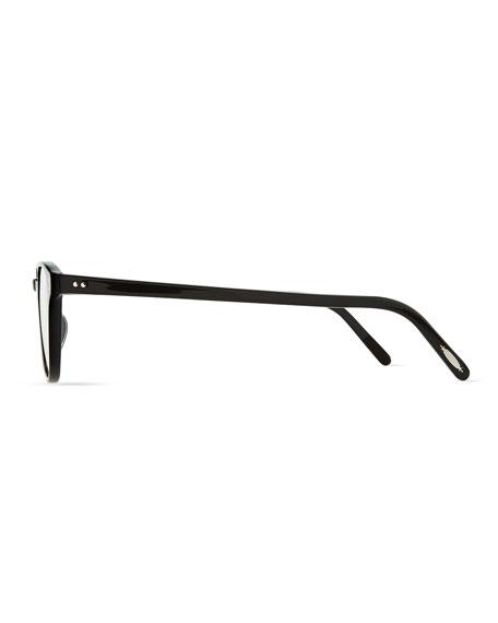 Fairmont 47 Acetate Fashion Eyeglass Frames, Black