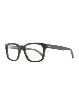 Oliver Peoples Wyler Men's Fashion Glasses, Black