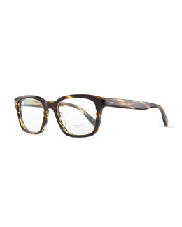 Oliver Peoples Wyler Men's Fashion Glasses, Brown