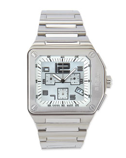 Breil Logo Chronograph Stainless Steel Watch