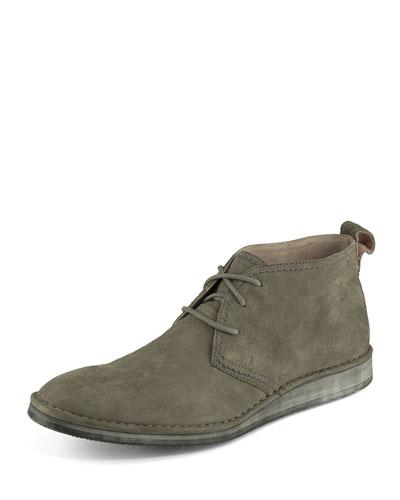 Parkchester Suede Chukka Boot, Dark Gray