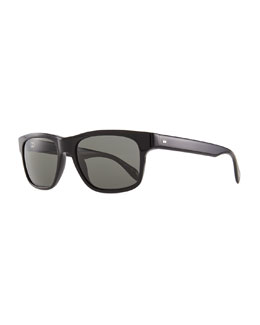 Oliver Peoples Becket Polarized Sunglasses, Black