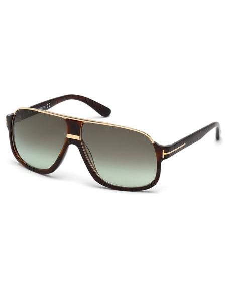 Tom Ford Elliot Acetate Sunglasses Brown