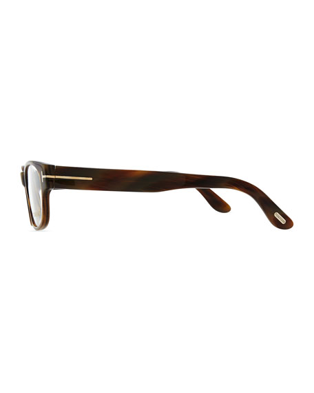 Hollywood Fashion Glasses with Clip-On Shades, Brown