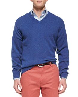 Peter Millar Knit V-Neck Sweater