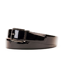 Dolce & Gabbana Men's Patent Leather Belt
