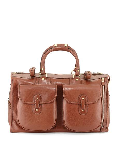 Express No. 2 Men's Weekender Bag, Chestnut Brown