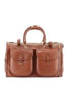 Ghurka Express No. 2 Men's Weekender Bag, Chestnut Brown
