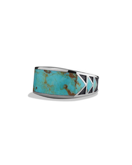 Frontier Ring with Turquoise