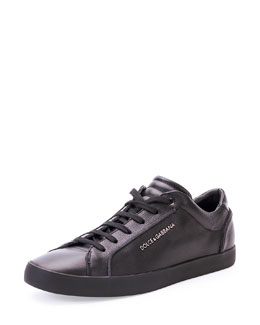 Dolce & Gabbana Costa Rica Leather Low-Top Sneaker
