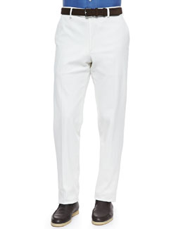 Loro Piana Diamond Straight-Leg Pants