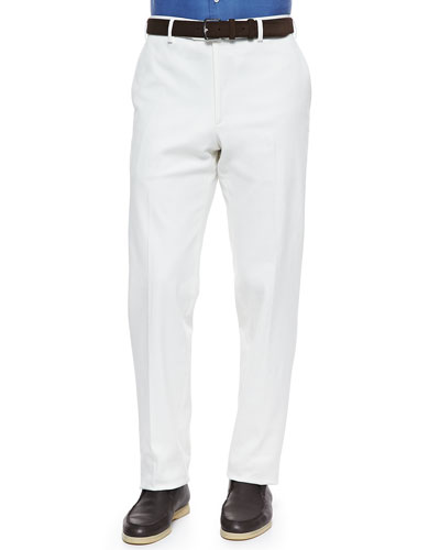 Loro Piana Diamond Straight-Leg Pants