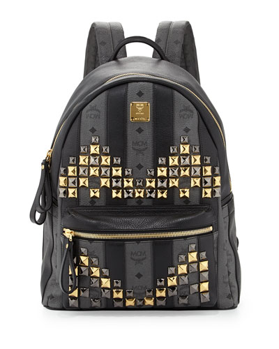 Men's Monogrammed Crystal-M Backpack
