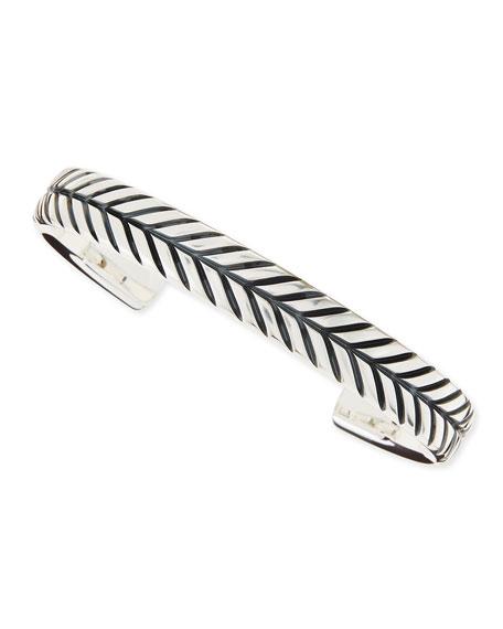 Modern Chevron Cuff Bracelet