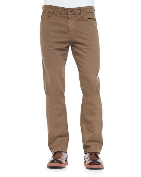 AG Gradate Sud Jeans, Dark Khaki
