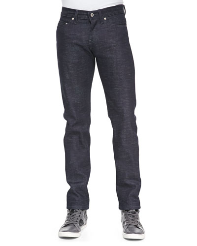 Naked and Famous Denim Twist Candy Weft Selvedge Jeans